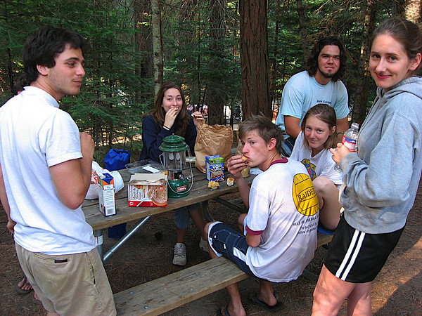 Breakfast at Hodgdon Meadow.