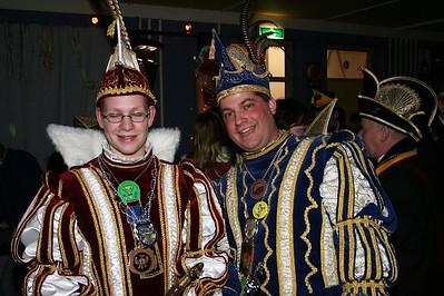 Prins Bart en zijn kabinet op bezoek bij de Platte Knip
