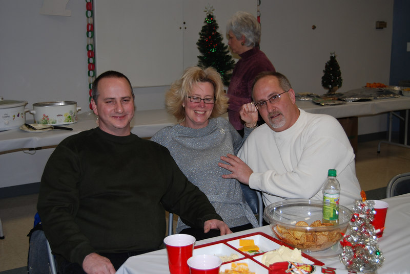 "Uncle Bill, Aunt Bonnie and her husband, ""Crazy"" Uncle Pete"