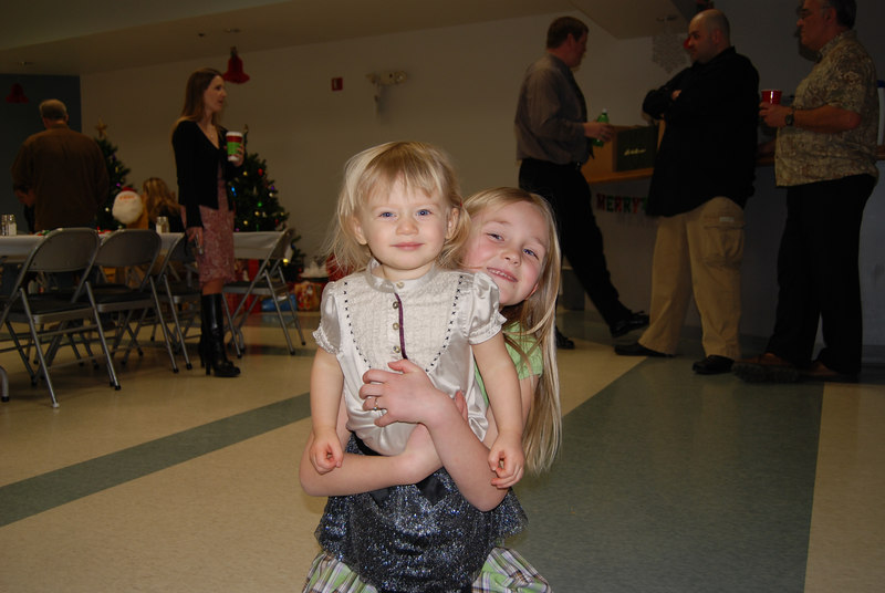 Bella and my cousin's daughter, Brittany