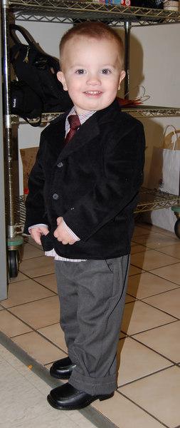 My cousin's son, Kellen (on the Hintze side)
