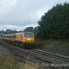 214 passes Cherryville Jct working the 0815 Limerick - Heuston Special, 5Mk2d. Sun 17.09.06