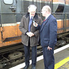 Former Station Manager of Ballina Tom Langan paid a visit to see his branch train leave for the final time. Sat 09.12.06