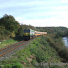 215 passes Yellow Quarry with the 0835 Heuston - Tralee, 5 P/P (6103). Sun 05.11.06.