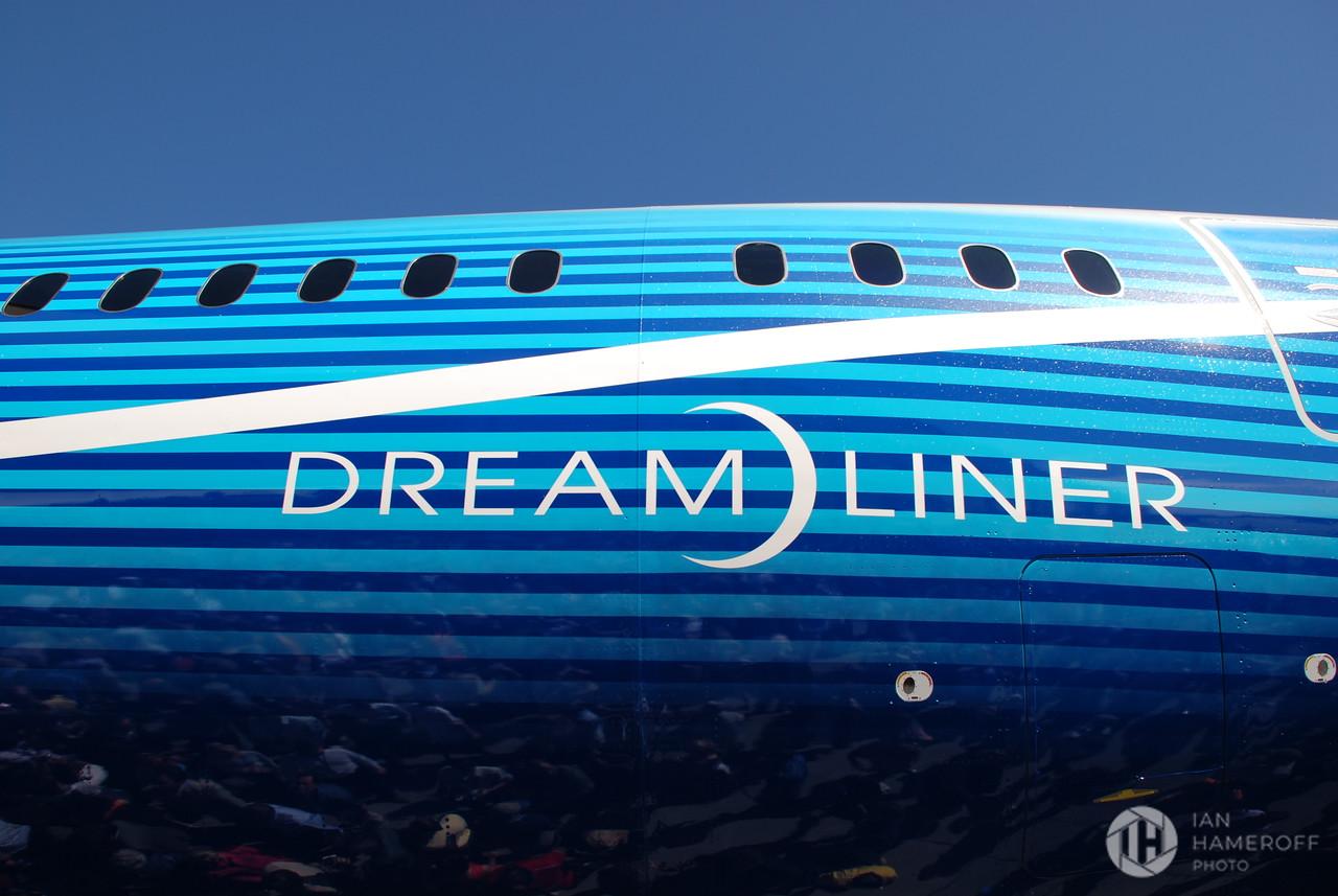 Dreamliner Logo on the Boeing 787