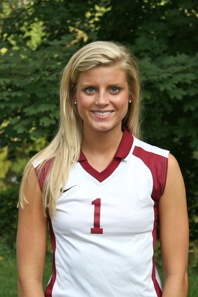 Chelsea Drake (Lutheran North High School) - New freshman middle hitter