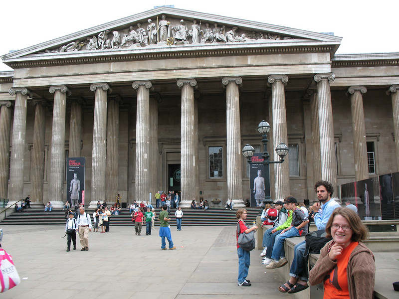 The British Museum. And myself.