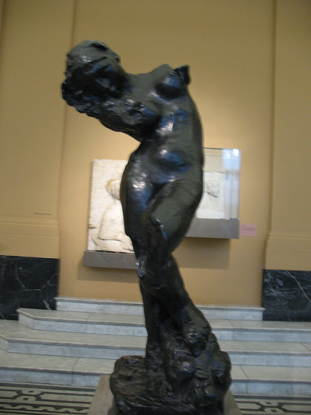 Who knew I liked Rodin so much? Who knew he was so awesome? This is The Muse. This photo is illegal.