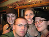 Danelle, Matt, Lydia, and Myself on the Big Ferris Wheel at the Prater.