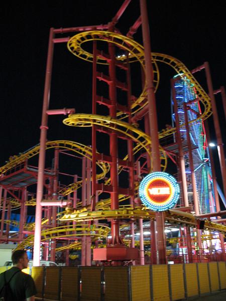 Prater Roller Coaster. And Matt Dion.