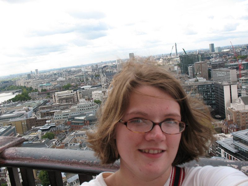 The top of St. Paul's Cathedral