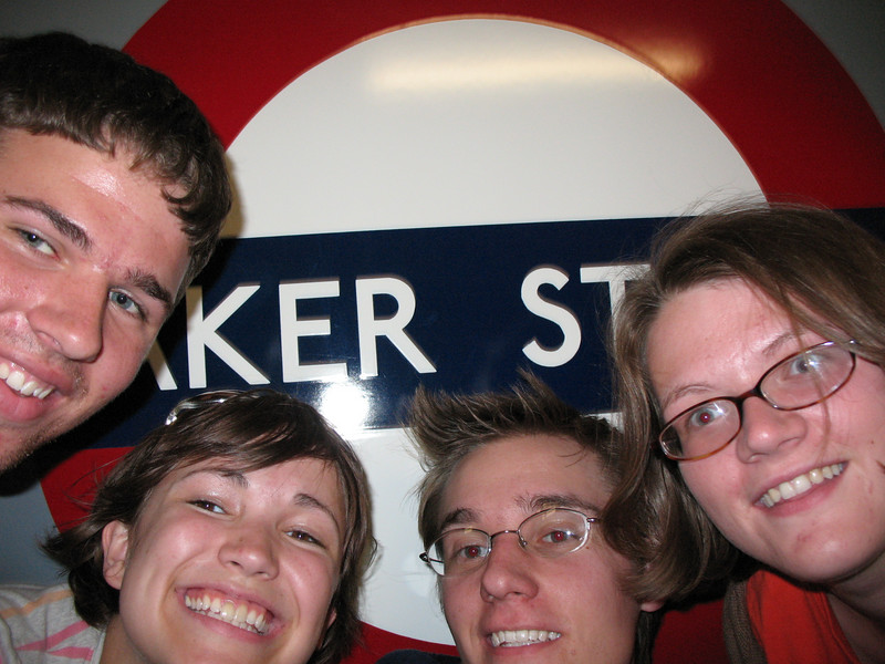 First London underground group separation experience...literally the first time we were supposed to go somewhere together