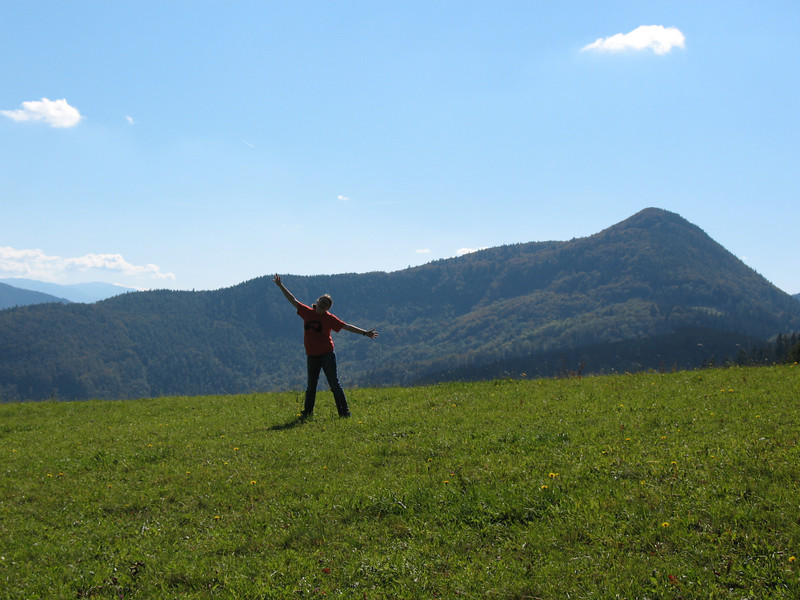 My sister wanted a Sound of Music picture.