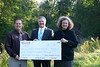 Rochester College recently joined efforts with the Michigan Department of Environmental Quality (MDEQ) and the Oakland Land Conservancy (OLC) to protect the beauty and natural land area on the campus that runs along the Clinton River.