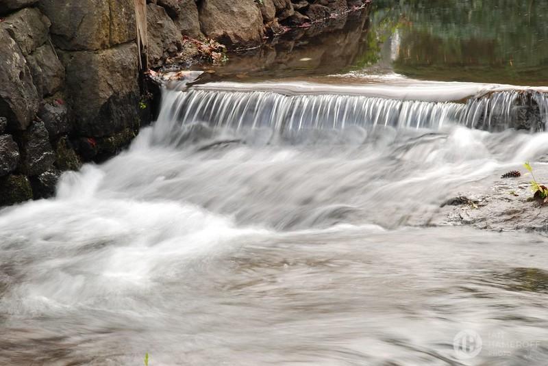Rushing Waters Before Falls