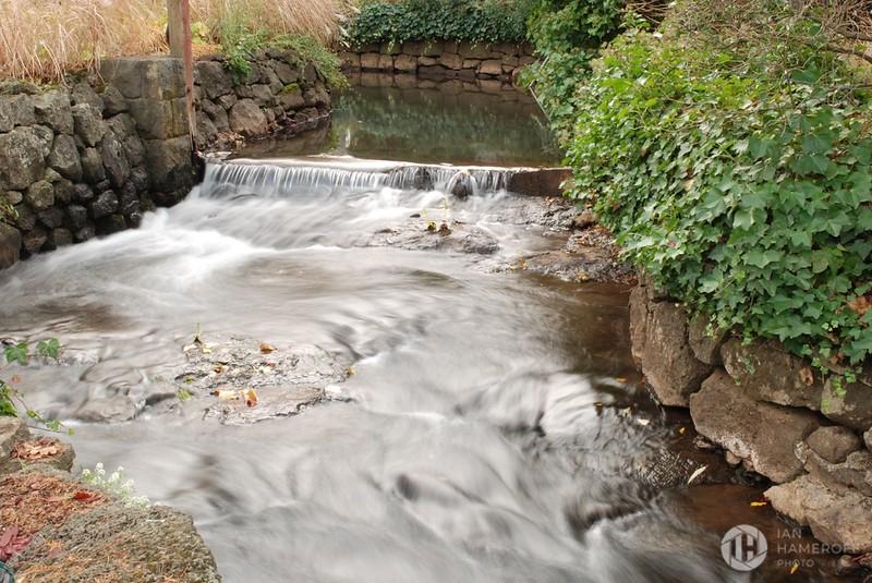 Tumbling Waters Before the Falls