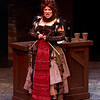 Debra K. Stevens as the vengeful Madame Defarge with her coded knitting in Childsplay's A Tale of Two Cities.<br /> Photo Credit: Heather Hill
