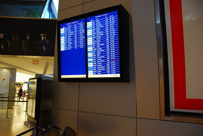 Flight CX840 to Hong Kong - ON TIME!