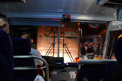The view from bus 2.