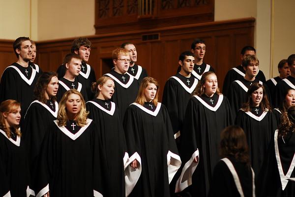 College Choir Home Concert