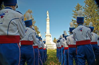 Lancer Marching Band Veterans Parade and Nashua Playoff Game