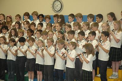 Third Grade Music/Art Sharing Program