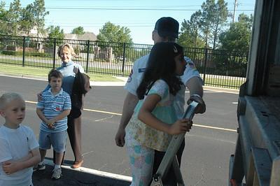 Trucker Budddy Visits Kindergarten
