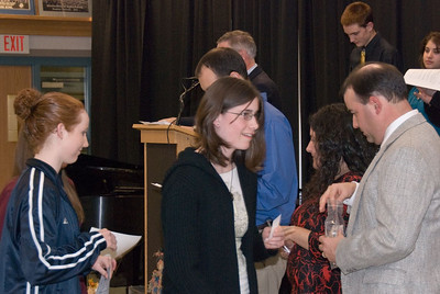 Tri-M Music Honor Society Induction Ceremony