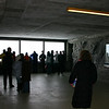 Crowd at Eigerwand Station scenic overlook.  This is inside the Eiger.  At least one scene from the Clint Eastwood movie The Eiger Sanction was filmed here.  On the hike of the Eiger trail, I took a picture of these windows from the outside.