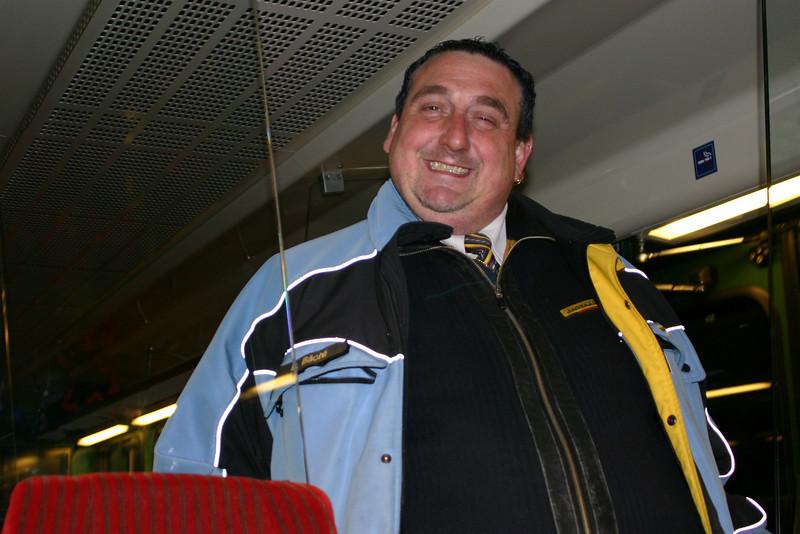Jungfraubahn Conductor