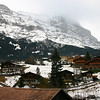 Grindelwald and the Eiger from Grindelwald Grund railway station