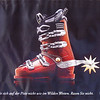 My next ski boot!  Giddyup.<br /> <br /> This was a poster I saw at Allalin.  It's part of a safety awareness campaign by an insurance company.  Essentially it says to behave yourself on the ski run, not like it's the wild west.  Slow down.  Don't ski crazy.