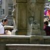 Fountain at Waisenhausplatz