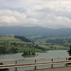 Pont-la-Ville over Lac de la Gruyere