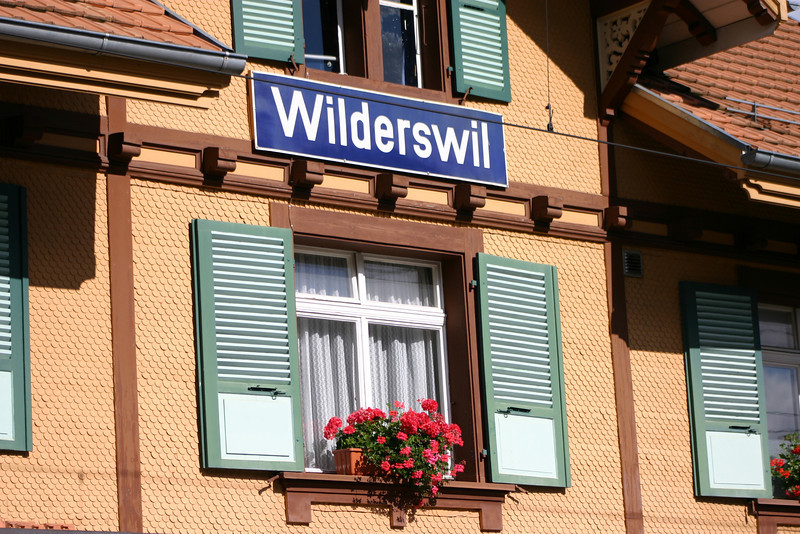 Wilderswil train station