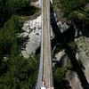 Danny on the foot bridge