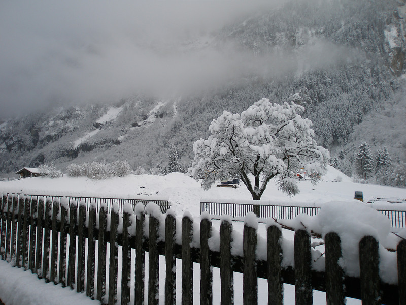 Snowy scene in Kandergrund -- Absolutely beautiful   (Photo by Doug)