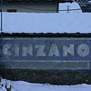Cinzano sign Deborah liked in Saint-Oyen
