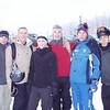Gunny, Joe, Dana, Brian, Jeremias, and Luca at Grindelwald Grund, Männlichen gondola