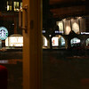 Reflections of the Starbucks window