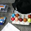 Bashed eggs