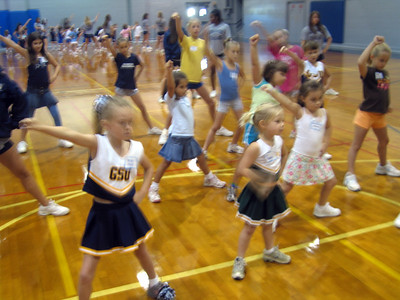Cheerleader Day Fall 07-08