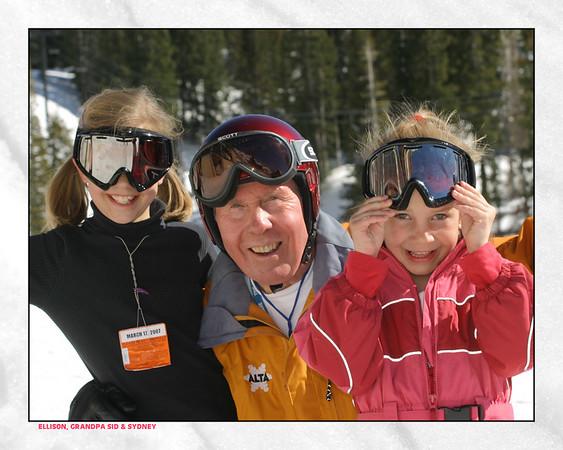 Skiing at Alta