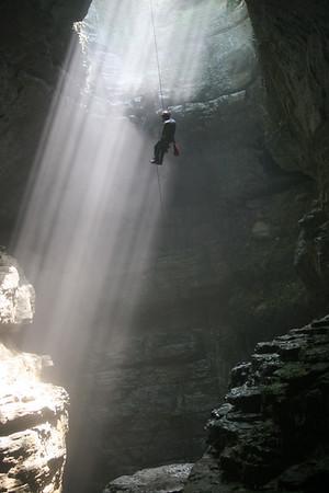 Stephen's Gap Cave August 2007