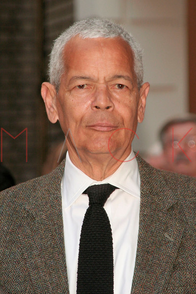 <center>Julian Bond at FROST/NIXON Opening Night on Broadway at the Bernard B. Jacobs Theater, 242 West 45th Street. New York, NY April 22, 2007 Photo by ©Steve Mack