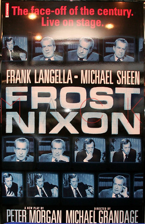 NEW YORK, NY - APRIL 22:  FROST/NIXON Opening Night on Broadway at the Bernard B. Jacobs Theater, 242 West 45th Street.