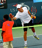 Amir Delen at the 2007 Arthur Ashe Kids Day at the USTA Billie Jean King National Tennis Centre in Queens, NY.  <center>New York, NY August 25, 2007 Photo by Steve Mack/S.D. Mack Pictures