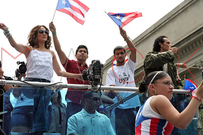 New York, NY - June 10:  50th Anniversary National Puerto Rican Day Parade.