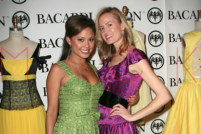 New York, NY - March 22:  The Bacardi Limon Express Your Style Design Competition - Live Cut-And-Sew at 78 Greene Street.