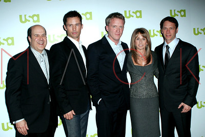 New York, NY - March 28:  The USA Network Upfronts, welcoming new and returning characters of USA Network at The Modern.